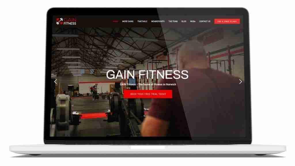 Screenshot of CrossFit website