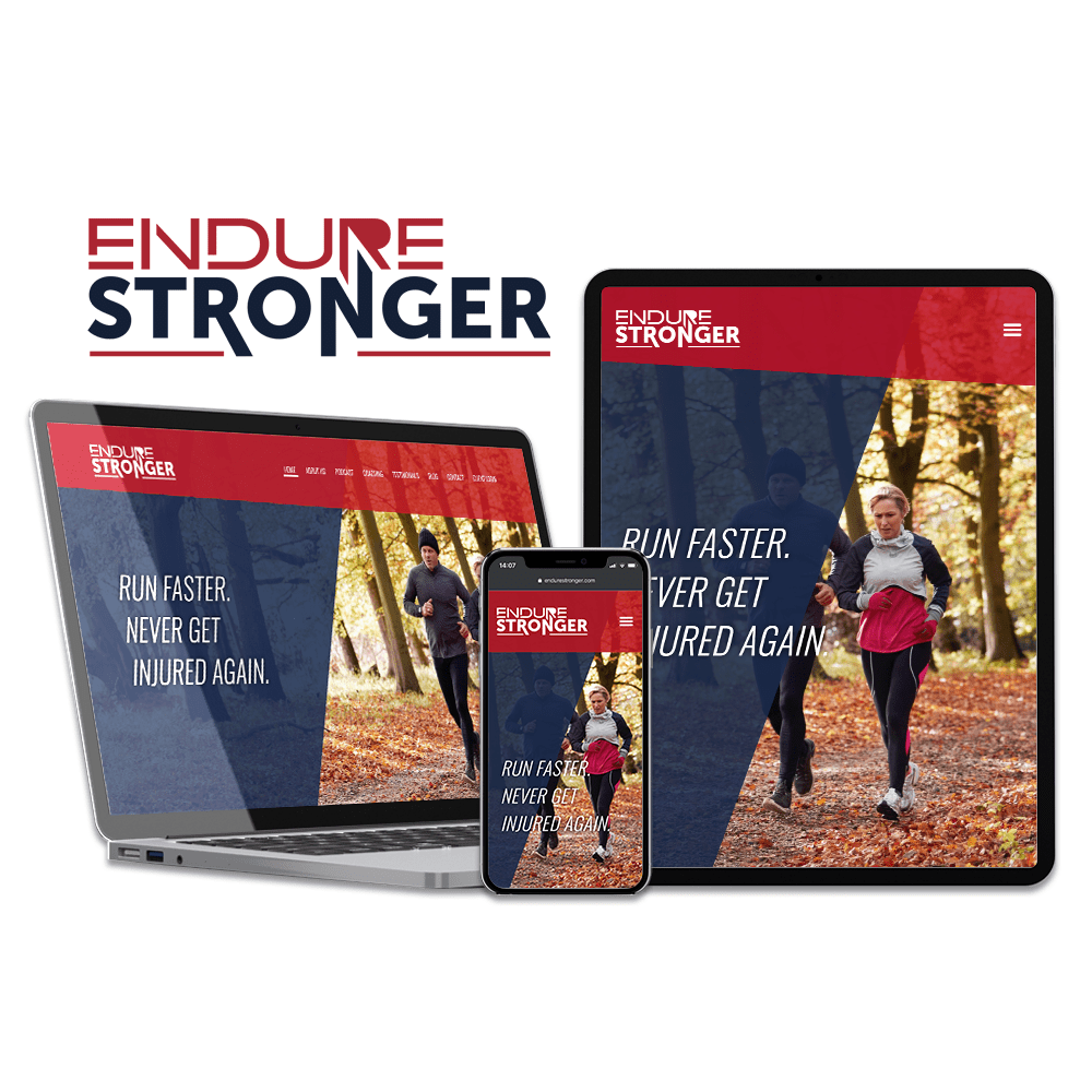 Endure Stronger Website